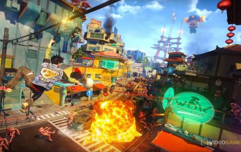 """Critics have praised the newly released game """"Sunset Overdrive"""""""