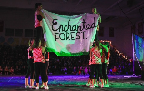 Successful spirit week ends with a strong pep rally performance