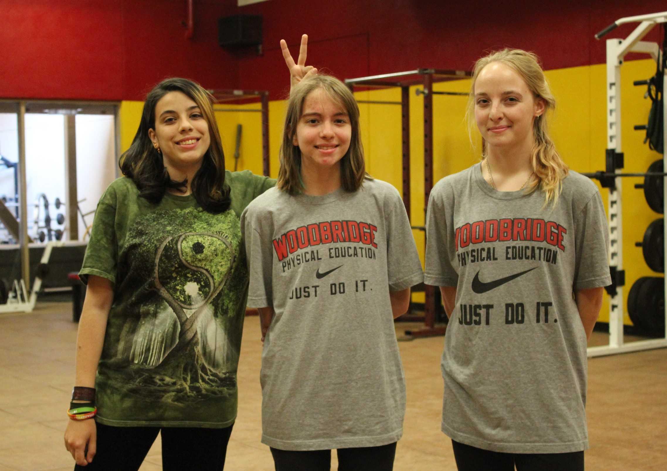Allen (left), Hazeldine (middle), Tonini (right)