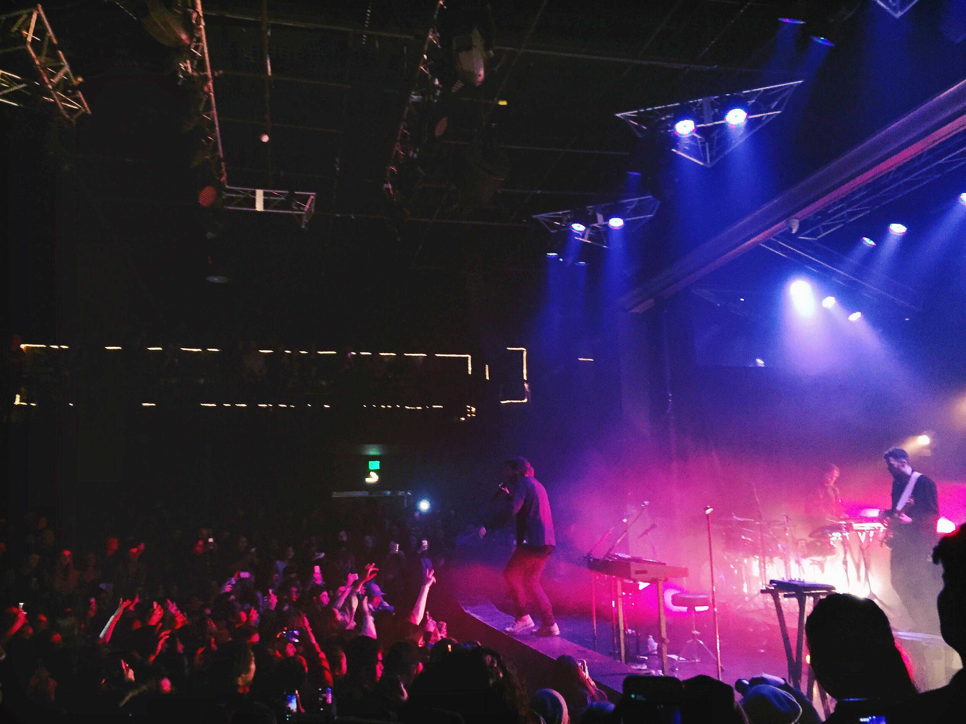 Cage the Elephant performs 'Ain't No Rest for the Wicked' on stage during a concert at the Observatory.