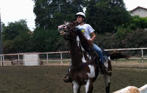 Horse whisperer on campus: Sevana Adourian