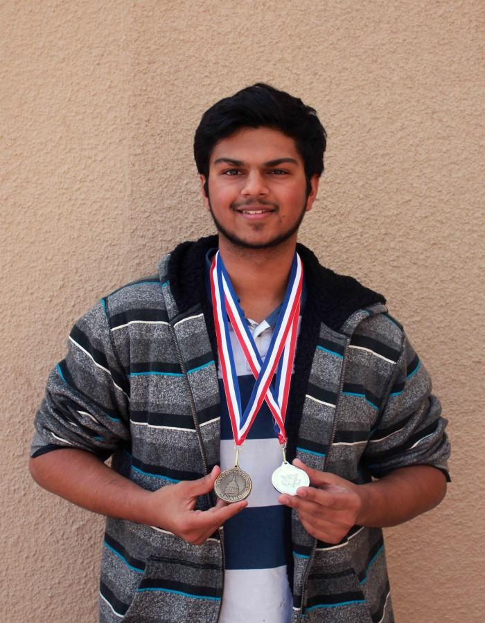 Karan+Shah+receives++awards+for+his+dedication+and+persistence+