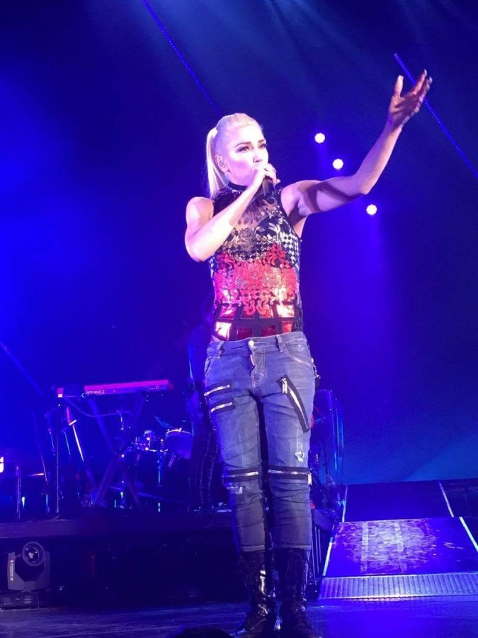 Singer+Gwen+Stefani+performed+at+the+last+show+in+the+Amphitheater.+