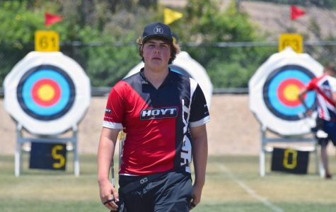 Jack Williams eyes the bull's-eye