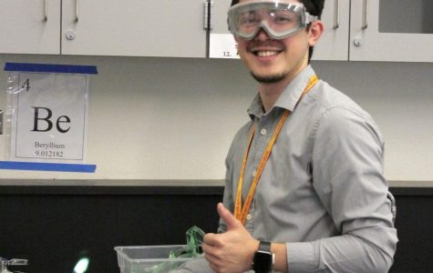 New Teachers in the Science Department
