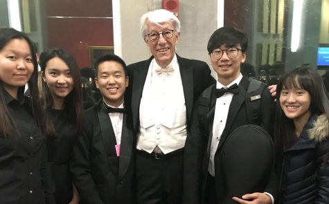 Three sophomore orchestra players accepted to the Honor Orchestra of America