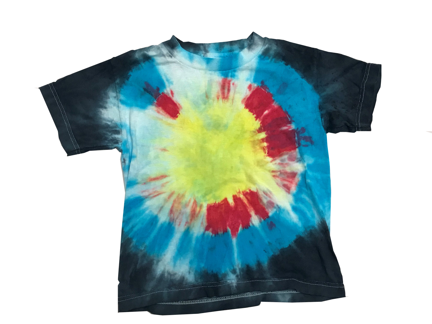 Tie-dye shirts are making a comeback as a throwback fashion trend.