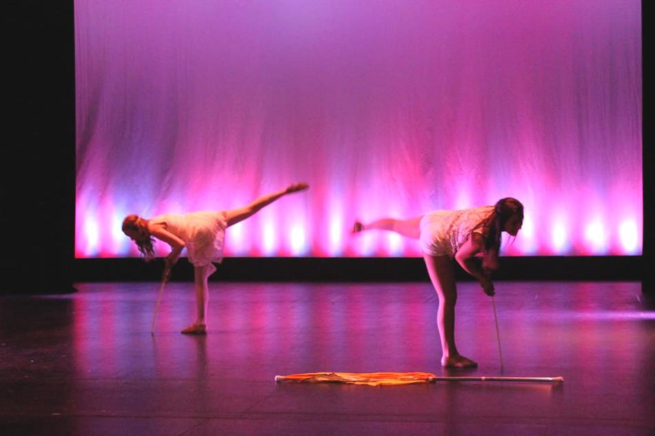 Color guard performed its production entitled 'Velocity' on June 3 and 4.