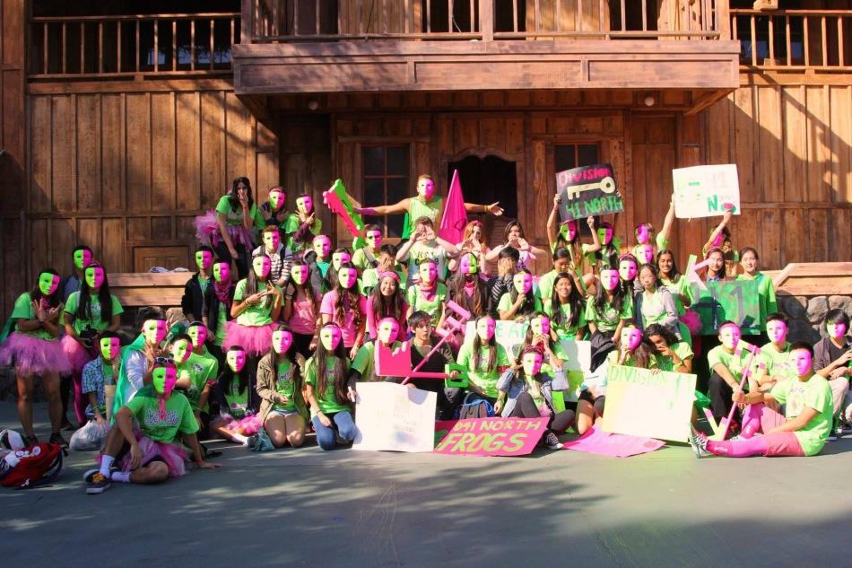Key Club members attend the annual Six Flags Rally spirit day on Nov. 15.
