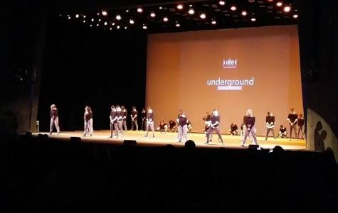Underground and Kaba Kids dance teams performed at the Vibe Junior Competition