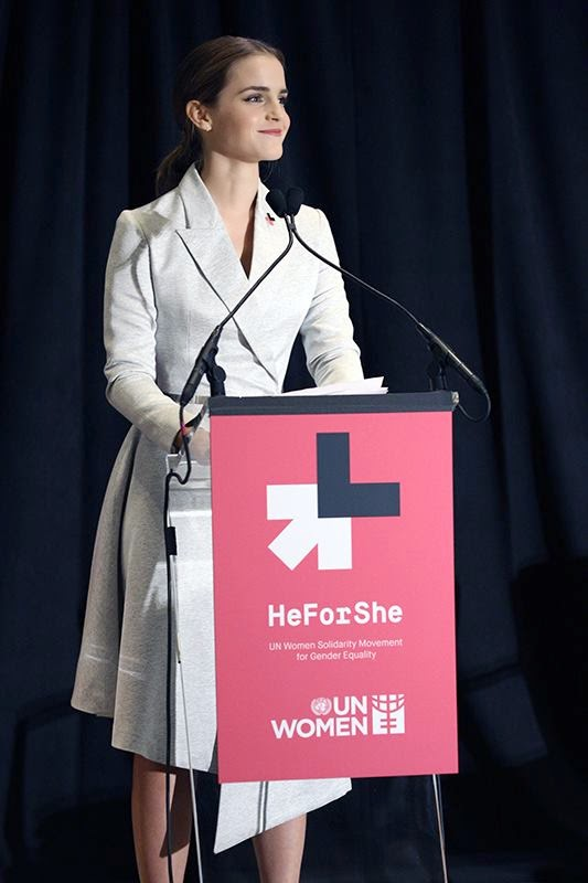 Emma+Watson%2C+U.N.+Women+Goodwill+Ambassador%2C+steps+up+during+He+for+She+campaign+to+speak+against+gender+inequality.