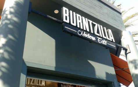 Burntzilla will be sure to stomp out your hunger