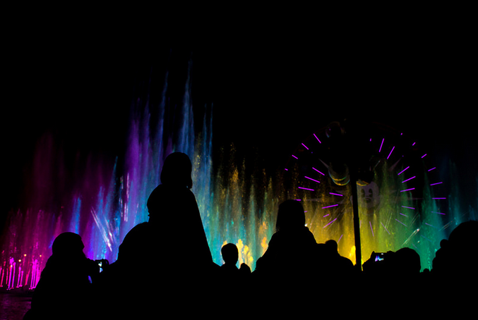 World of Color is one of many attractions that will undergo changes during Disneyland's 60th anniversary celebration.