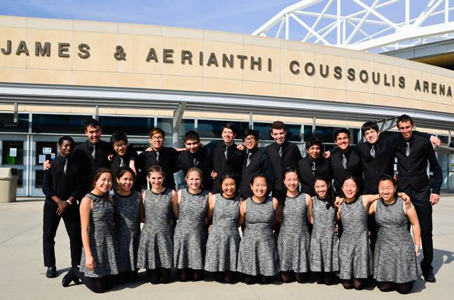 Percussion Ensemble  placed first in the Concert World Division at the Western States Championships on March 22.