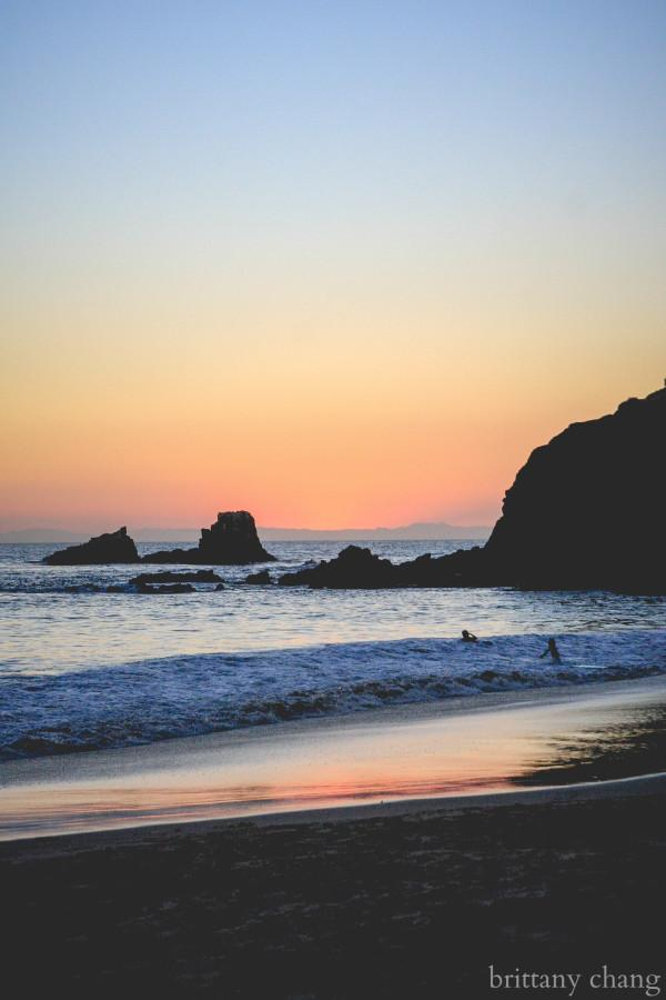 Laguna Beach offers a relaxing environment to visit after your senior finals.