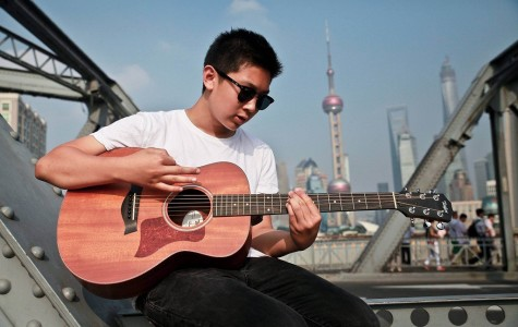Harrison Li explores musical talents