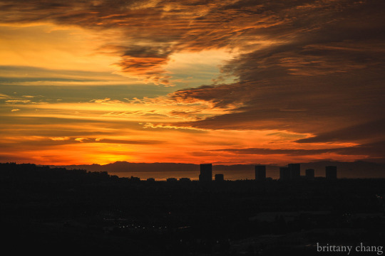 The beautiful sunset over Irvine from Suicide Hill is a view you do not want to miss.