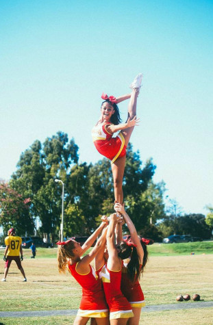 Cheer shines with passion and excitement