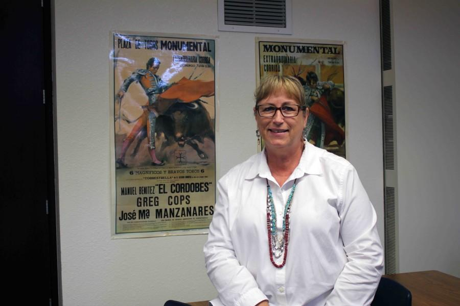 Lisa Vielhauer prepares herself for retirement