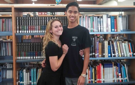 Kyla Bunnell and Anthony Coloma, Seniors