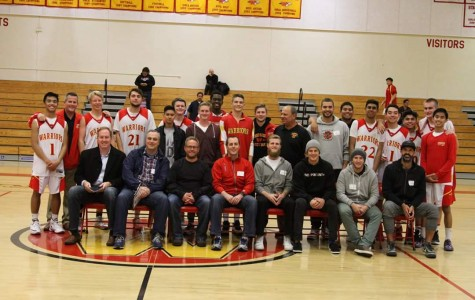 A blast from the past with the basketball team alumni