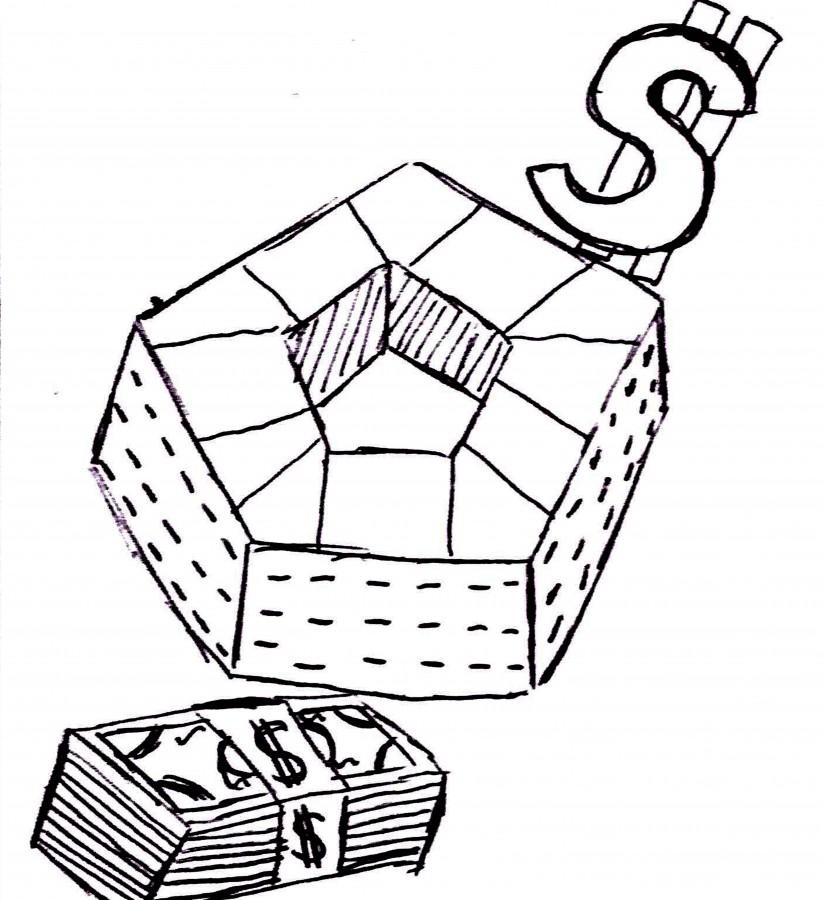 Five-sided money waster