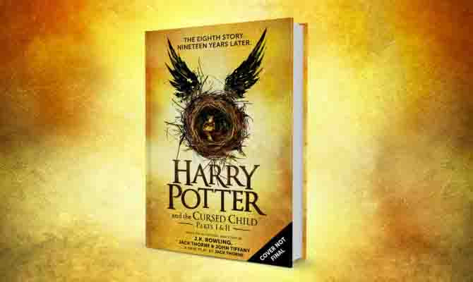 J.K. Rowling announces two-part play will also be published as a book.