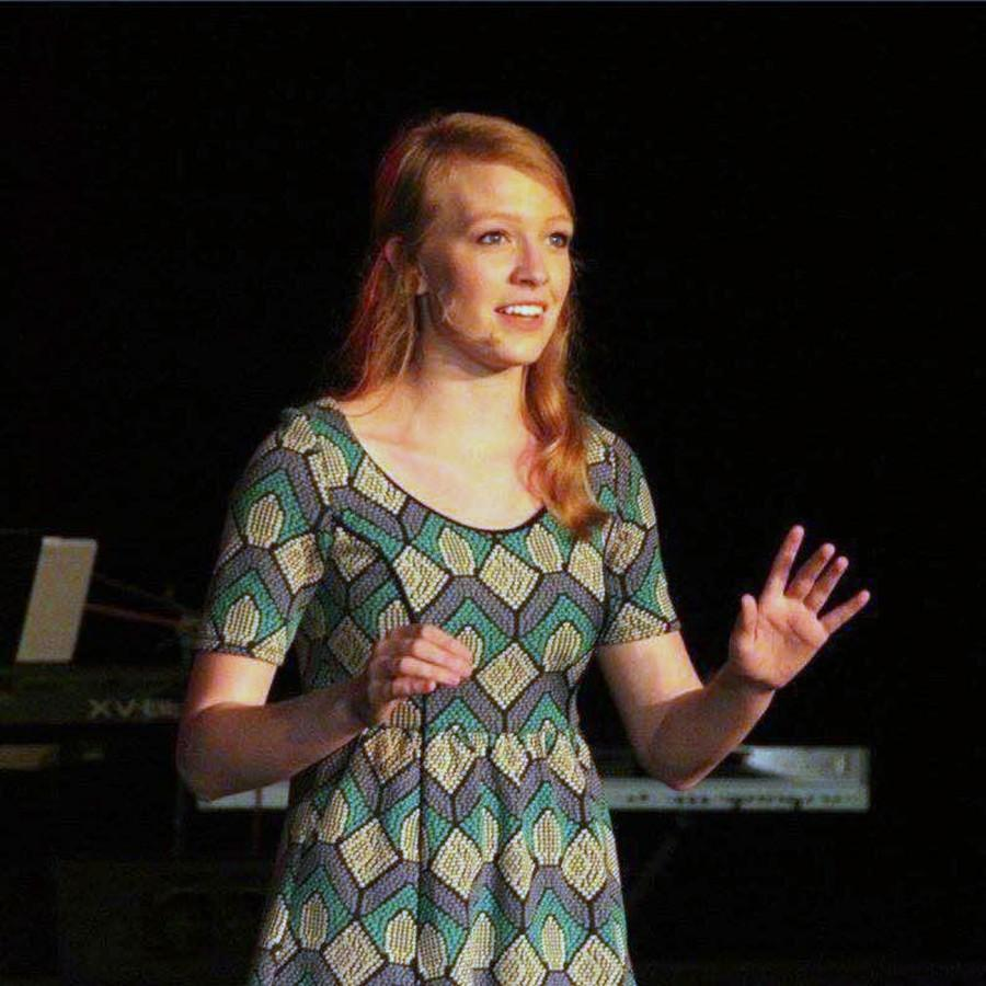 Senior and nominee Sophie Huisken is a passionate singer and performer.