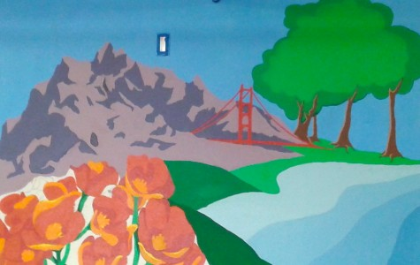Exploring California with new student mural