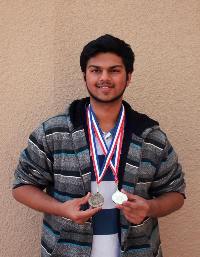 Karan+Shah+receives++awards+for+his+dedication+and+persistence+