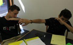 Thomas Loynd and Gurgen Sahakyan, freshmen
