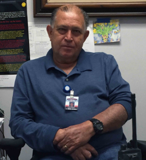 Custodial supervisor Ramon Guzman reminisces on his 30+ years of experience