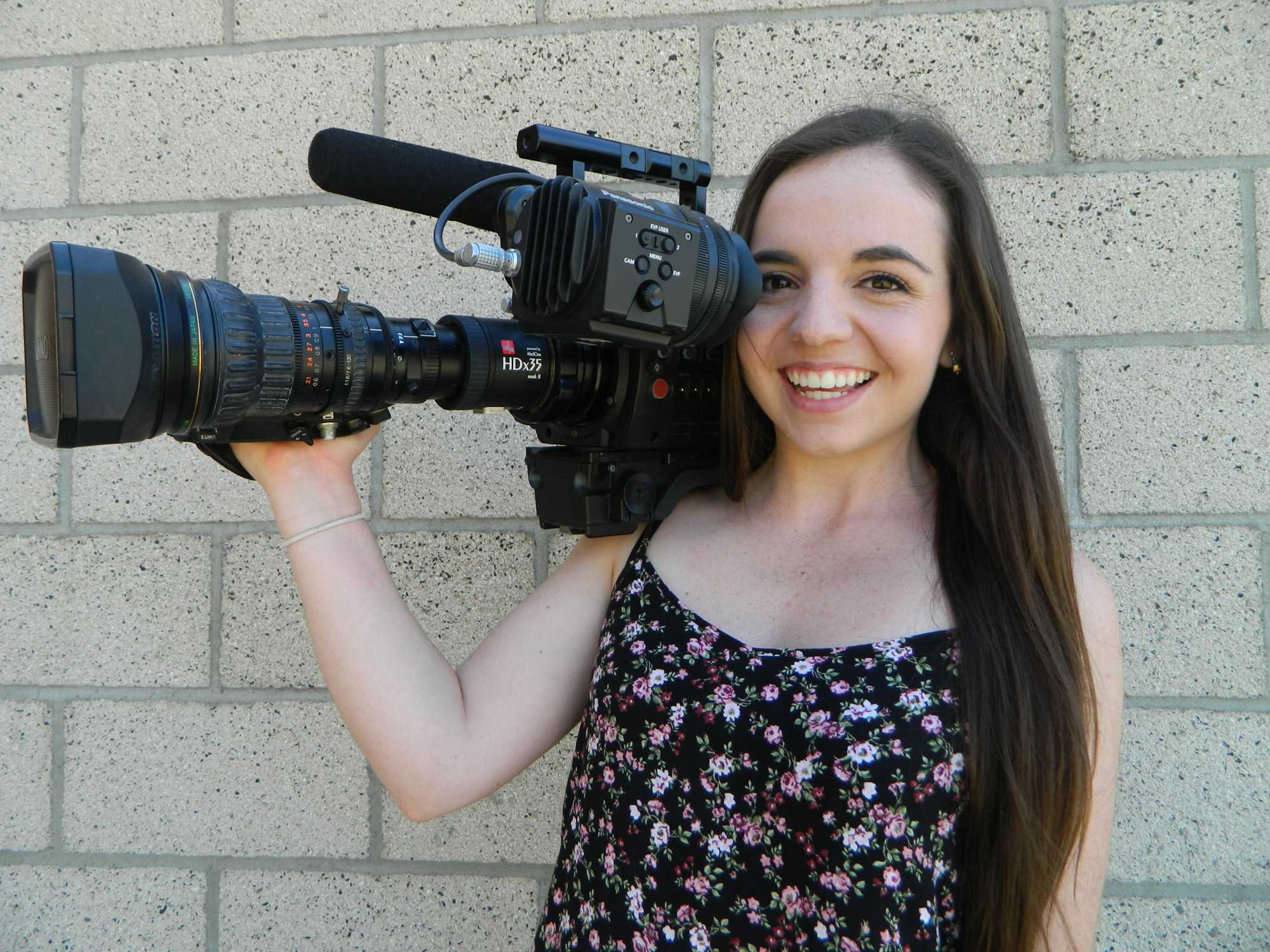Senior Claire Imler is an aspiring filmmaker who like to capture moment of people's lives.