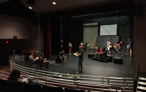 "Curtain rises as students prepare for the ""A Midsummer Night's Dream"""