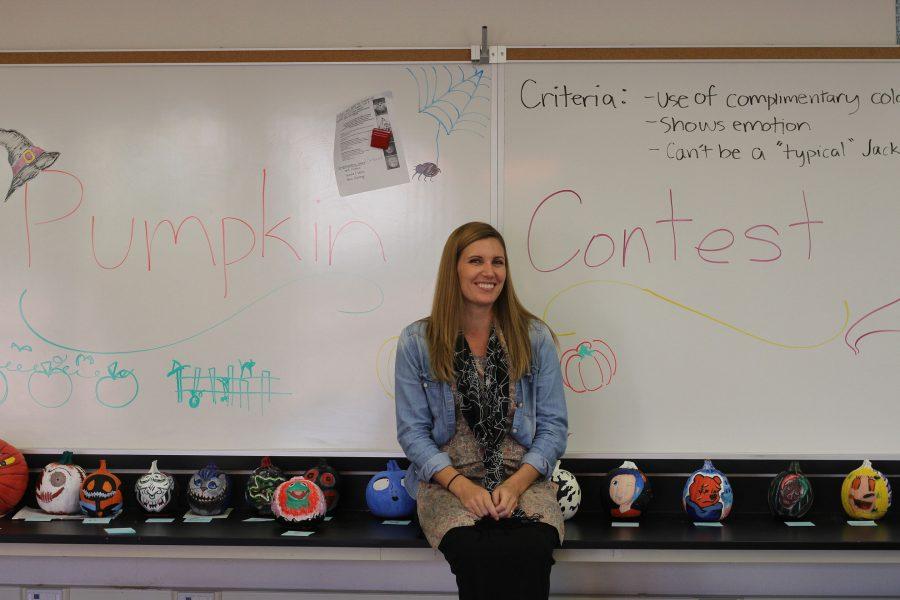 Art+teacher+Jillian+Rogers+organized+this+art+contest.+