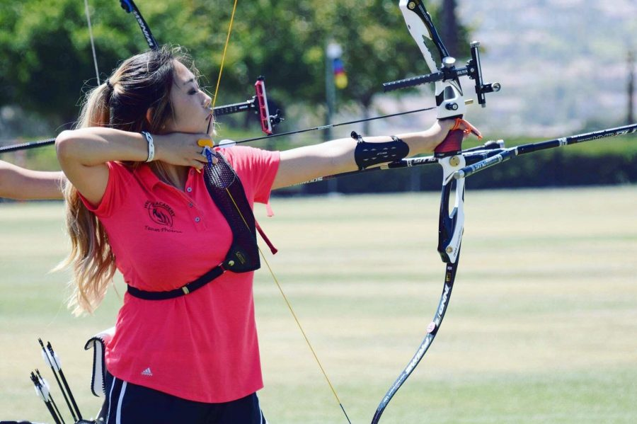 Kelly Yoo hits the mark at national archery tournament