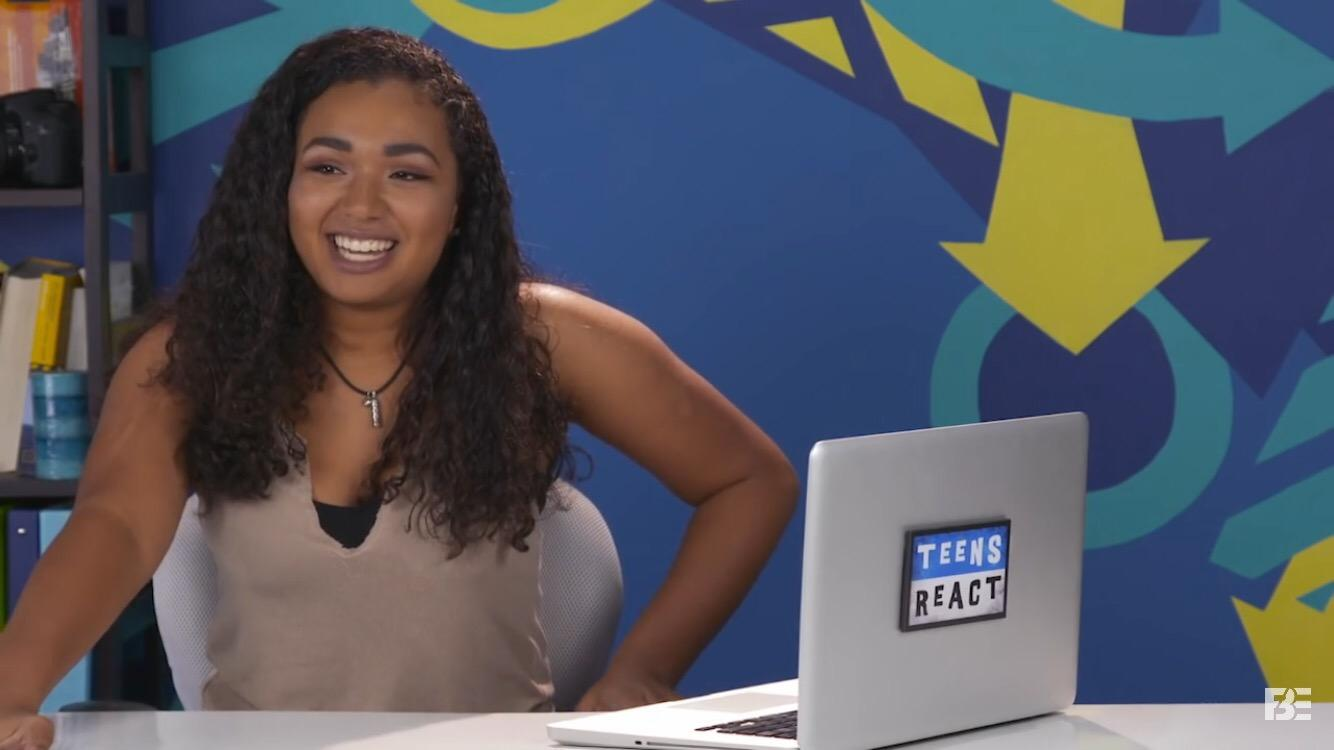 Junior Leyla Jackson is a reactor for Teens React series and gives her opinion about viral videos as well as music videos of various artists.