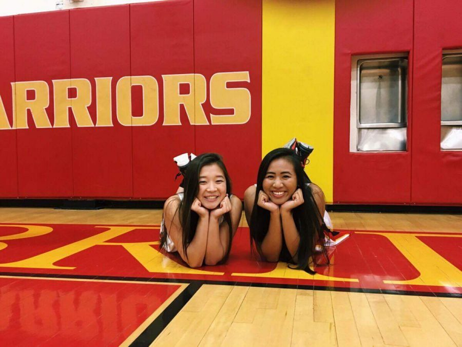Leaders of basketball: Alyssa Cadavona and Lauren Lum