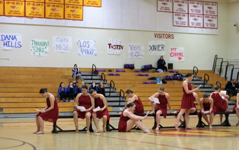 Dance Team hosts a competition, instead of dancing.