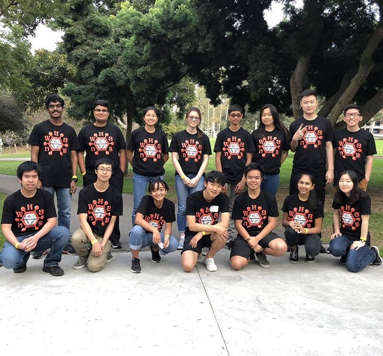 Ranking 11th overall, the Science Olympiad team executed their abilities with top titles in the competition. Sophomore Ryan Hoang along with junior Matthew Ho placed sixth in remote sensing. Junior Ethan Nguyen and sophomore Nina Gonzales ranked sixth place in the mission possible category. Gonzales also placed an impressive third in the disease detectives category, partnered with junior and academic captain Rachel Chae.