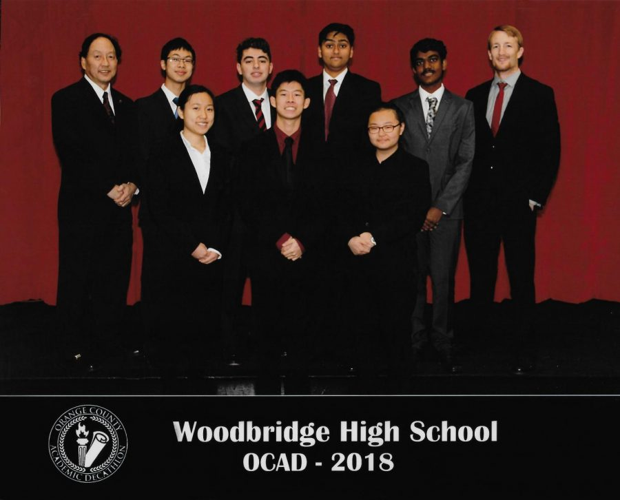 Academic Decathlon won first place in all of Orange County as a result of all of the members' hard work.
