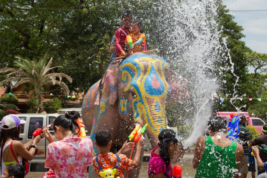 Celebrations+of+Songkran+place+a+large+focus+on+water%2C+commemorating+Buddhist+practices.