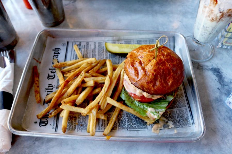 The diner's specialty, the Old Town burger, is wholesome and fresh, with the fluffy buns leaving customers satisfied.