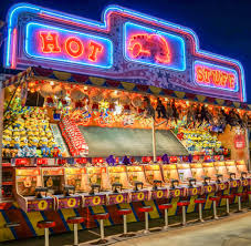 Carnival games offer attendees a fun excursion, along with flagrant food options.