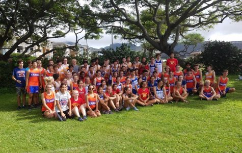 "Cross Country Team says ""Aloha"" to the Start of a Successful Season"