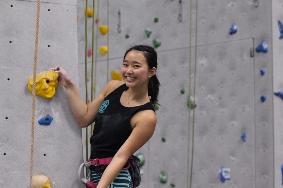 Azure Otani Climbs Her Way Up