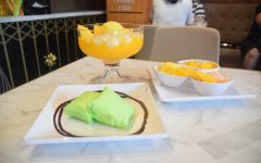 Durian pancake, Mango Romance, Jumbo Mango Chewy Ball are just a few things on the Hui Lau Shan menu.