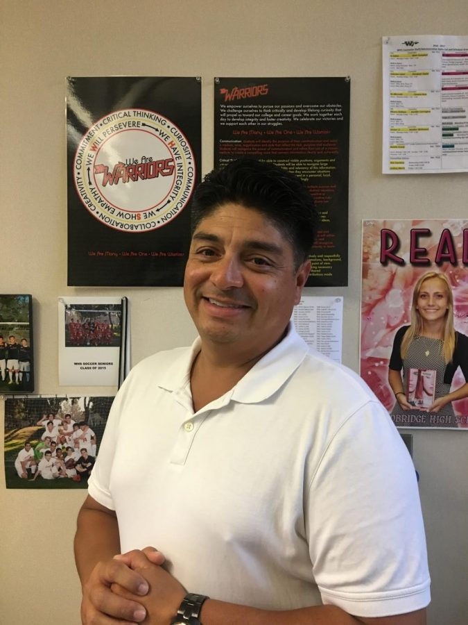 Luis Barahona, Spanish Teacher