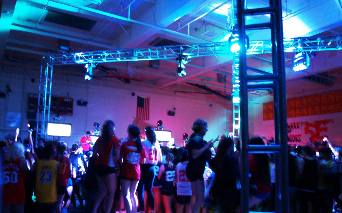 Students of all grades dance the night away at Jersey Jam.