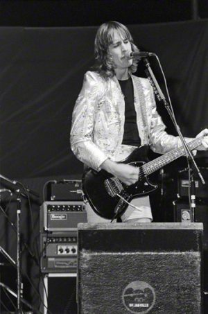 Singer Todd Rundgren performs his song at a concert in 1978.